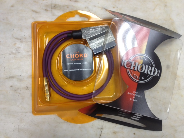 Chord Company S-Video-Scart Silver (1m)