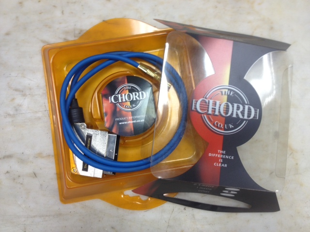 Chord Company S-Video-Scart (1m)