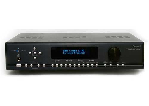 Cary Audio Cinema 12 Black