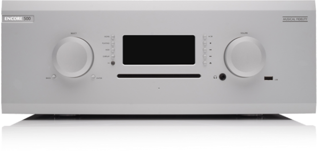 Musical Fidelity M8 ENCORE 500 Silver